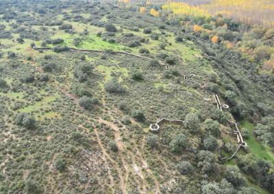 Cival war wall – Andalucia, Spain