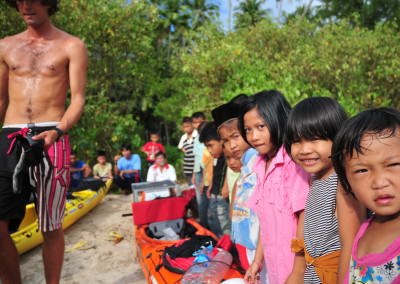 Nias island children